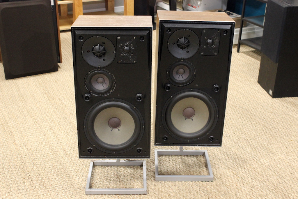 ENCEINTES BANG & OLUFSEN BEOVOX S75 + PIEDS